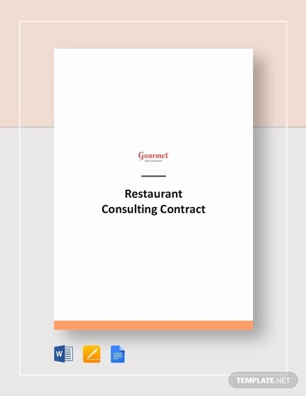 Simple Consulting Agreement Template New 17 Consulting Contract Templates Word Pdf Apple Pages