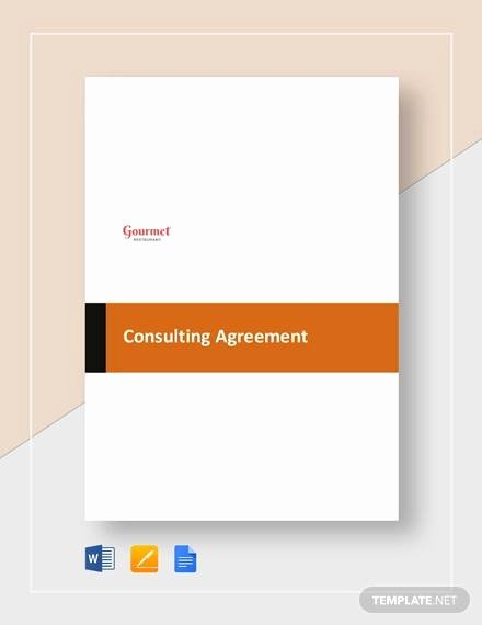 Simple Consulting Contract Template Best Of Simple Consulting Agreement Sample 13 Examples In Word Pdf