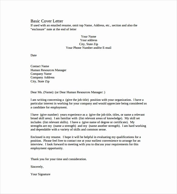 Simple Cover Letter Template Word Unique Take Over Pany Letter format