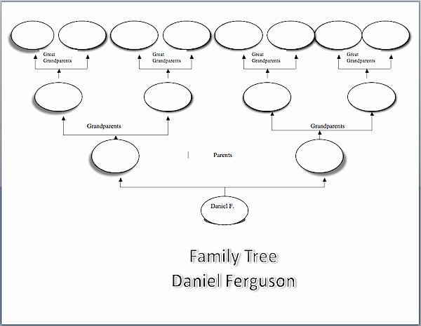 Simple Family Tree Template Beautiful Make A Family Tree