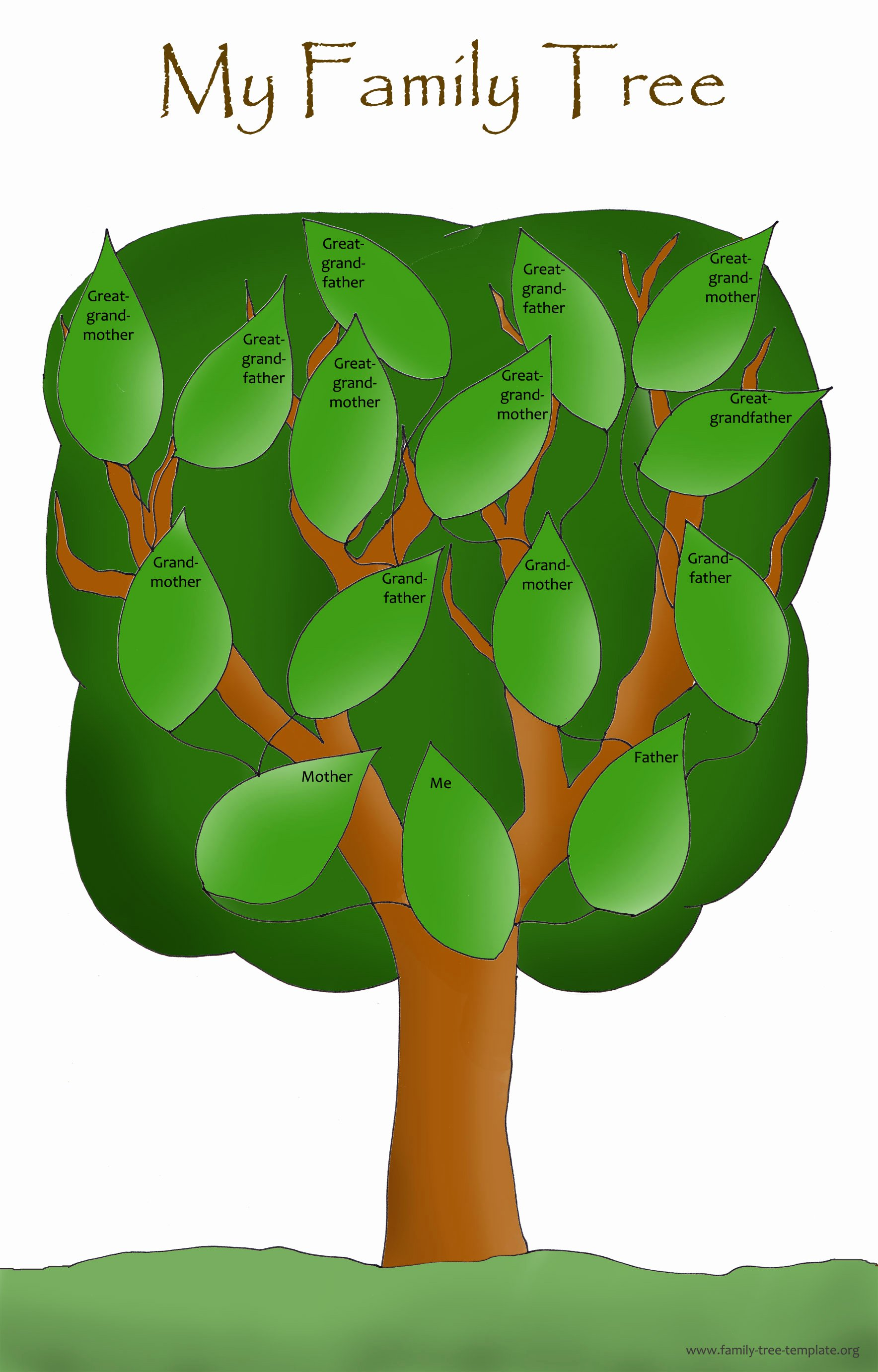 Simple Family Tree Template Lovely Family Tree Template Resources