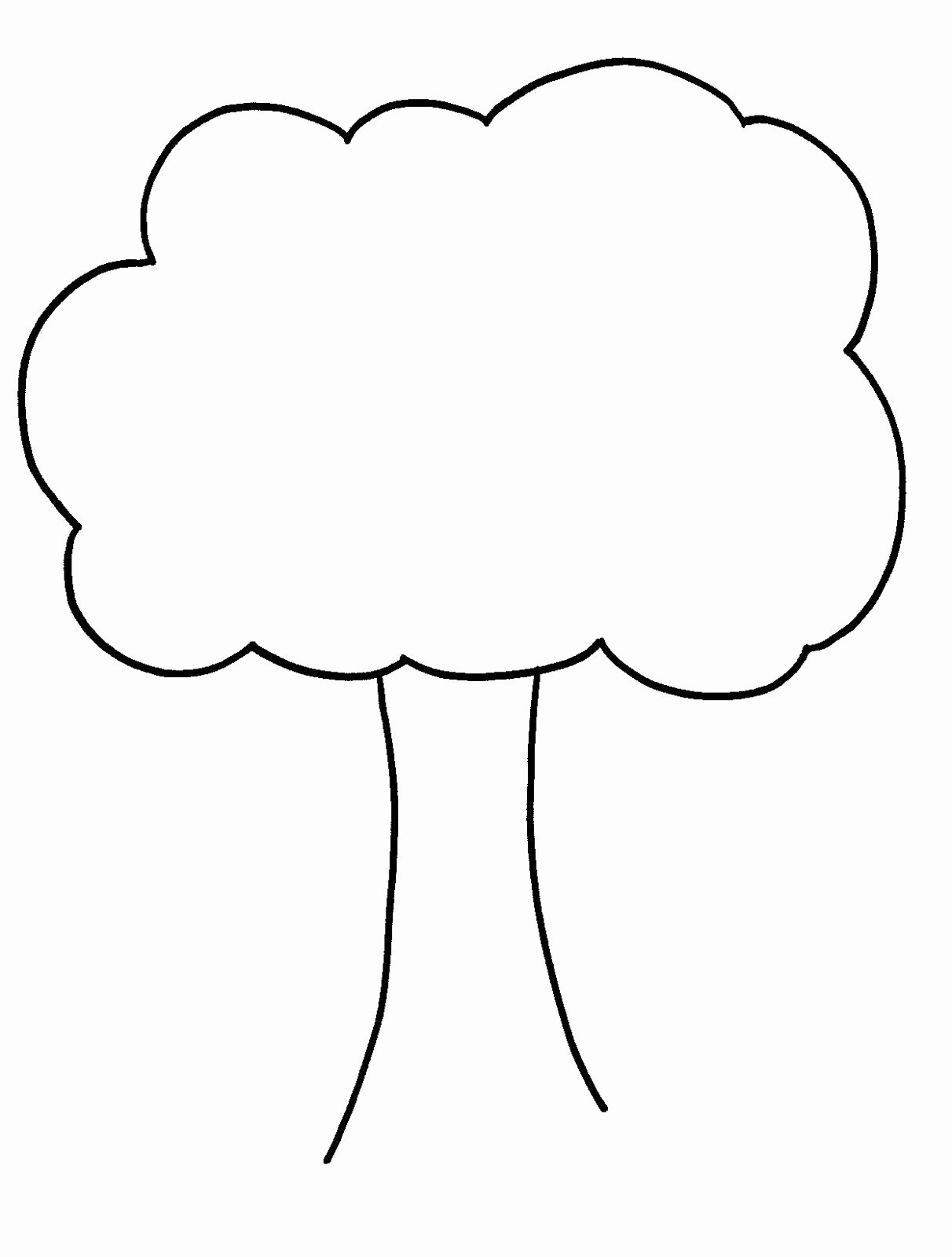 Simple Family Tree Template Luxury Bare Tree Template Cliparts