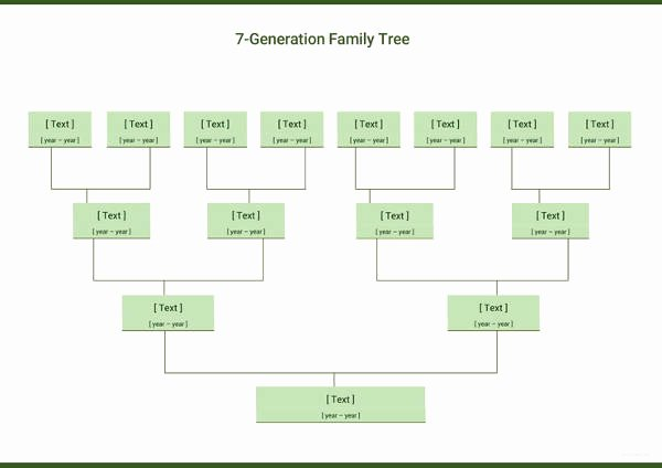 Simple Family Tree Template Luxury Simple Family Tree Template 27 Free Word Excel Pdf