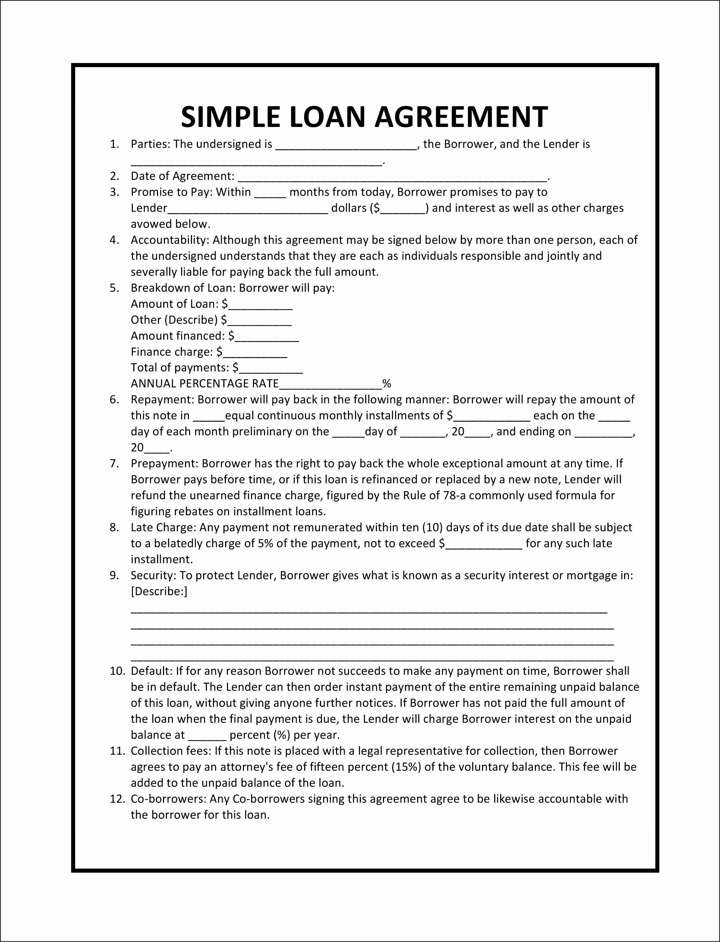Simple Partnership Agreement Template Unique 8 Simple Partnership Agreement Template Sampletemplatess