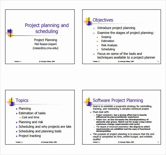 Simple Project Proposal Template Beautiful Sample Project Plan 19 Examples format