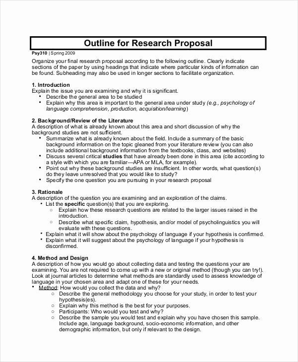 Simple Project Proposal Template Best Of Free 43 Simple Proposal formats Examples In Pdf