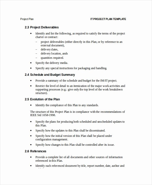 Simple Project Proposal Template Elegant Project Plan Template 12 Free Word Psd Pdf Documents