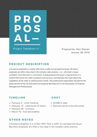 Simple Project Proposal Template Unique Customize 201 Proposal Templates Online Canva