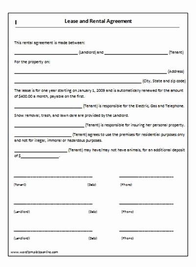 Simple Rental Agreement Template Word Beautiful Room Rental Agreement form