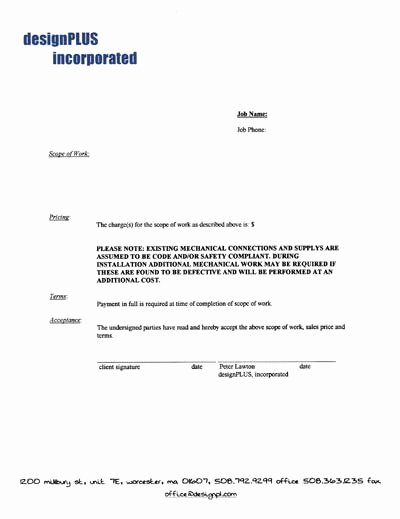 Simple Service Agreement Template Luxury Free Printable It Services Contract form Generic