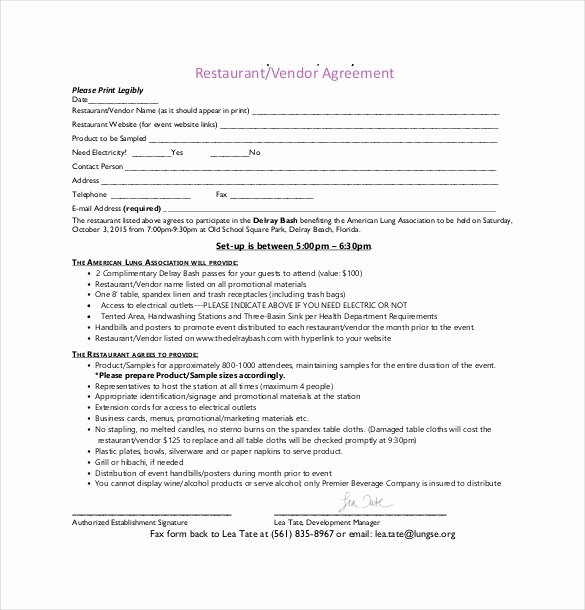 Simple Vendor Agreement Template Fresh 27 Sample Vendor Agreement Templates Pdf Doc