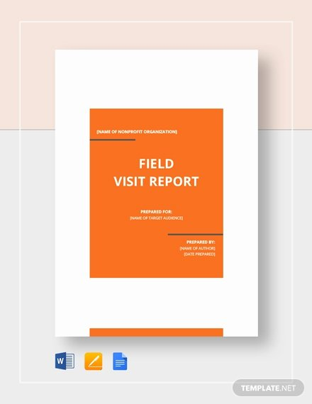 Site Visit Report Template Awesome Free Simple Industry Visit Report Template Download 542