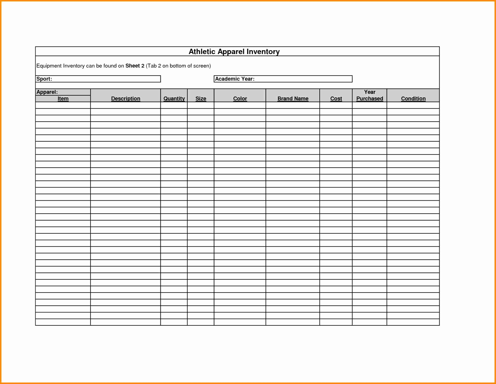 Small Business Inventory Spreadsheet Template Awesome Small Business Inventory Spreadsheet Template New
