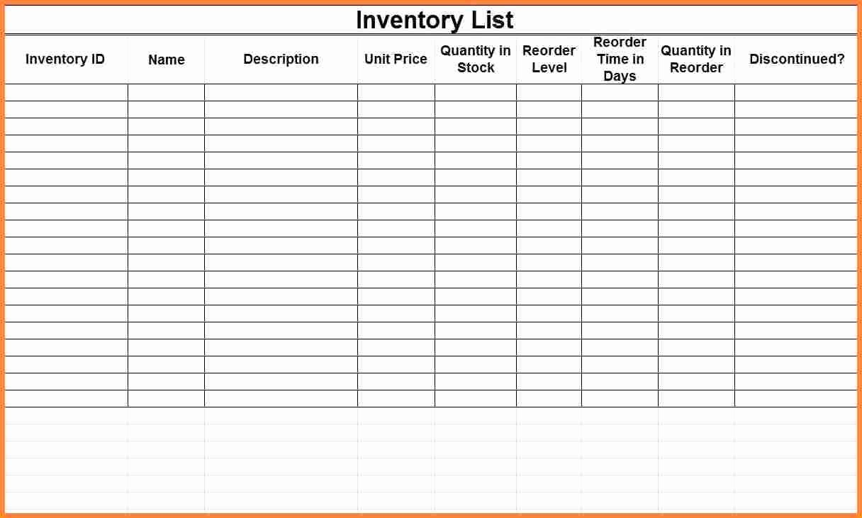 Small Business Inventory Spreadsheet Template New Easy to Use Inventory Tracking Templates for Your Business