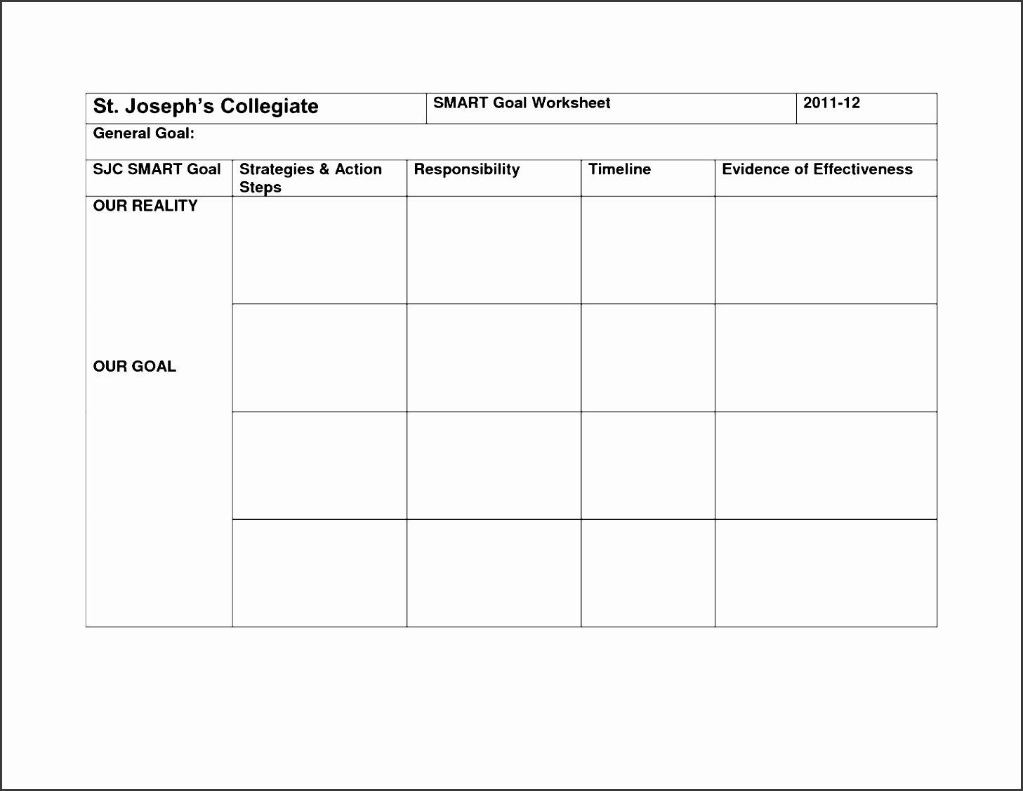Smart Action Plan Template Fresh 7 Action Plan Template Pdf Sampletemplatess