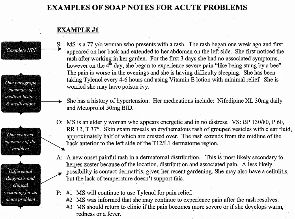 Soap Note Template Nurse Practitioner Elegant Sample Occupational therapy soap Note Google Search
