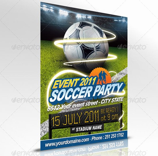 Soccer Flyer Template Free Fresh 160 Free and Premium Psd Flyer Design Templates Print