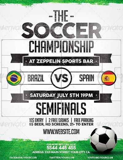 Soccer Flyer Template Free Fresh Best soccer Flyer Templates No 1 Download Psd Flyer
