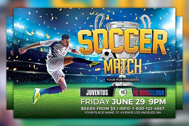 Soccer Flyer Template Free Fresh soccer tournament Flyer Template Flyer Templates