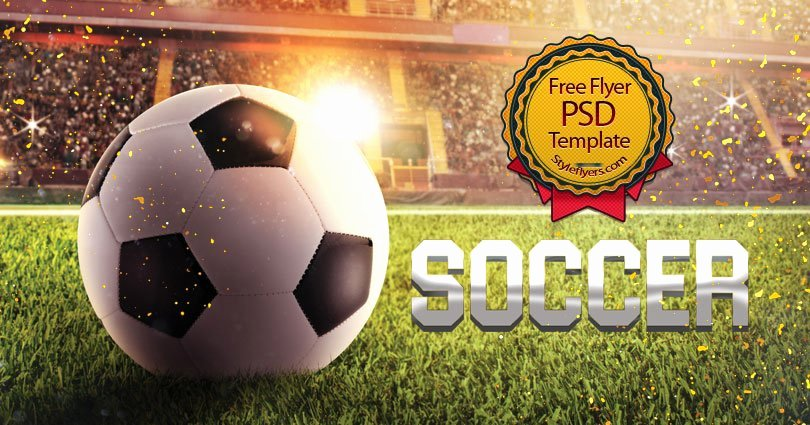 Soccer Flyer Template Free Inspirational soccer Free Psd Flyer Template Free Download