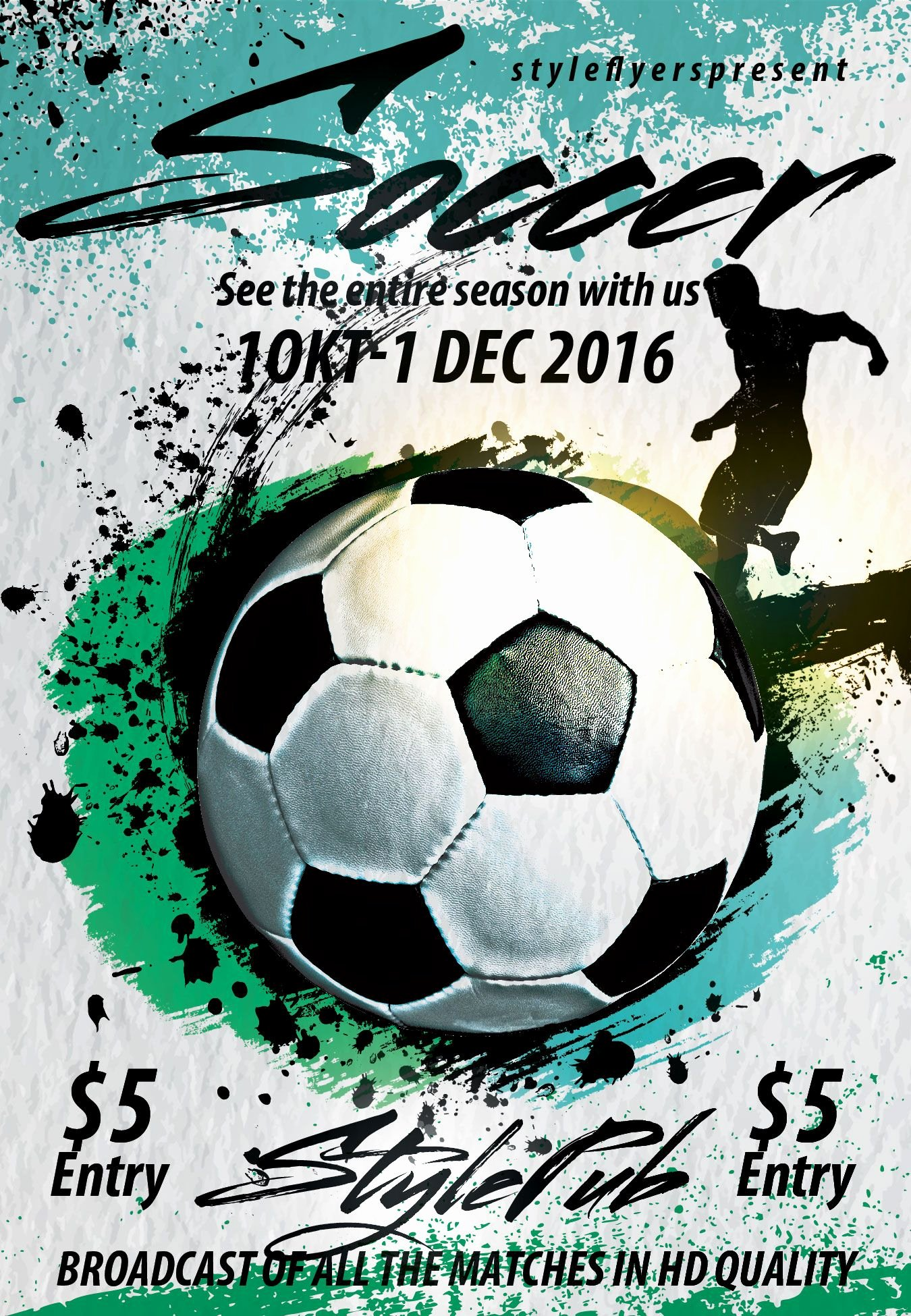 Soccer Flyer Template Free Lovely soccer Free Psd Flyer Template Free Download
