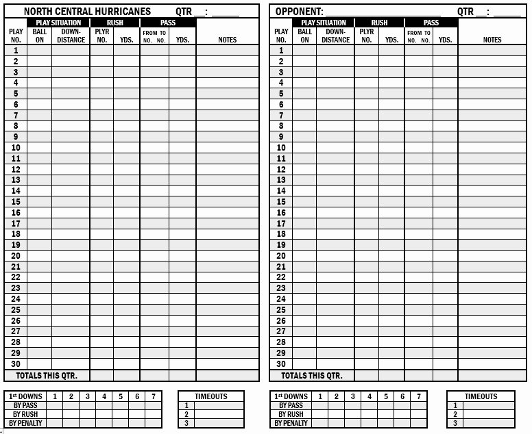 Soccer Score Sheet Template Best Of 13 Free Sample Football Score Sheet Templates Printable