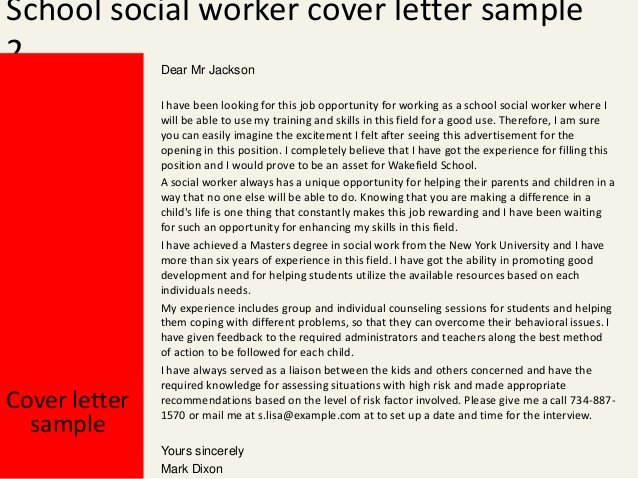 Social Worker Cover Letter Template Awesome School social Worker Cover Letter