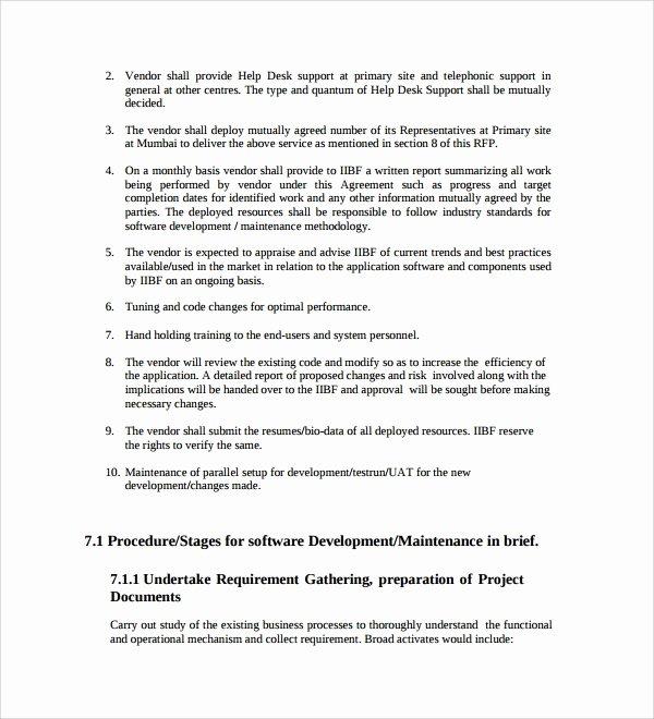 Software Development Proposal Template Lovely 13 software Development Proposal Templates to Download