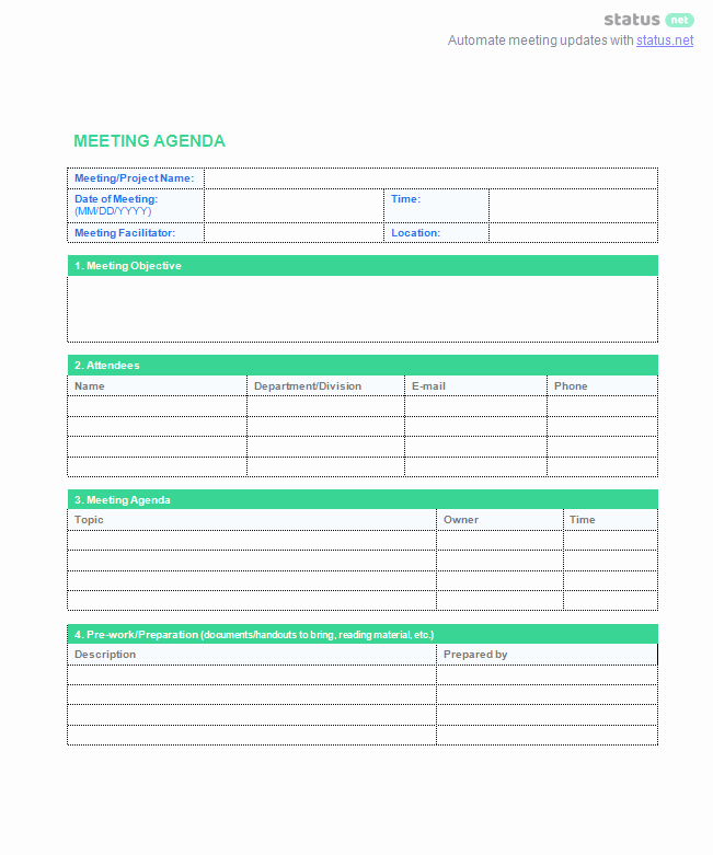 Staff Meeting Agenda Template Lovely 8 Best Staff Meeting Practices [ 2 Amazing Free Templates]