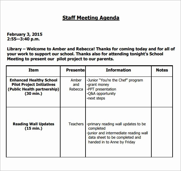 Staff Meeting Agenda Template Lovely Image Result for Teacher Staff Meeting Agenda Template