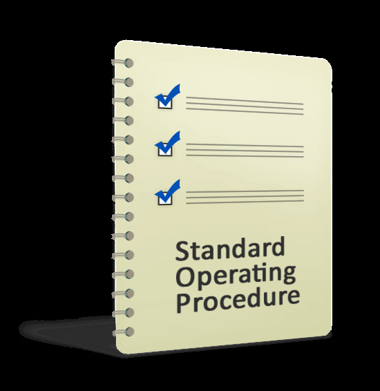 Standard Operating Procedure Templates Awesome Standard Operation Procedure Template