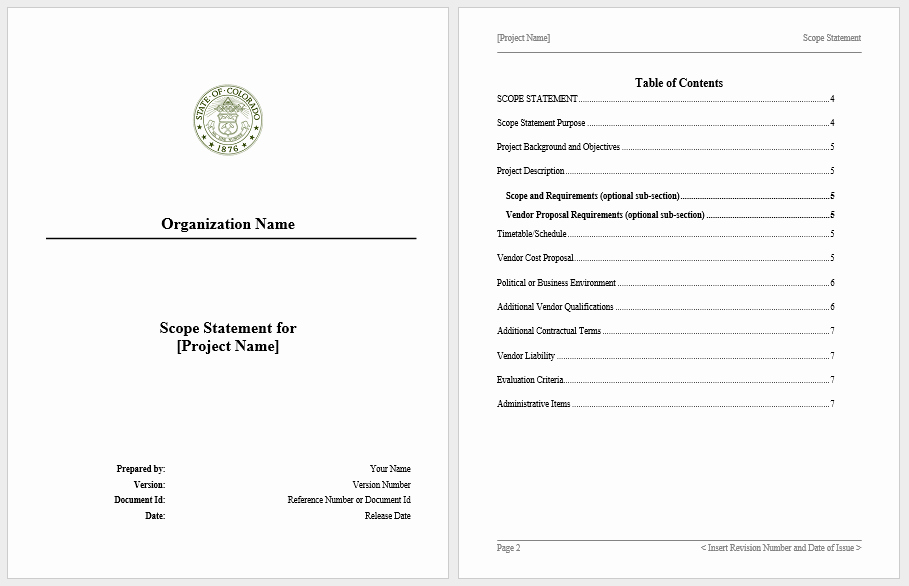 Statement Of Work Template Word Luxury Statement Of Work Templates 13 Free Sample Templates