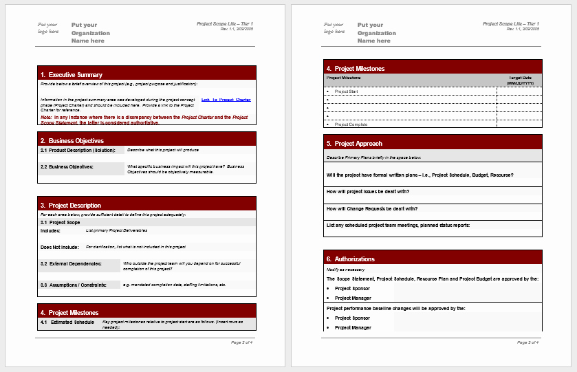 Statement Of Work Word Template Beautiful Statement Of Work Templates 13 Free Sample Templates