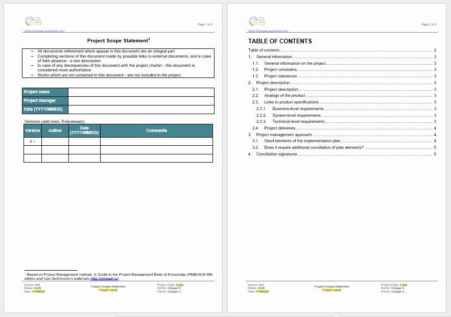 Statement Of Work Word Template Elegant Statement Of Work Templates 13 Free Sample Templates