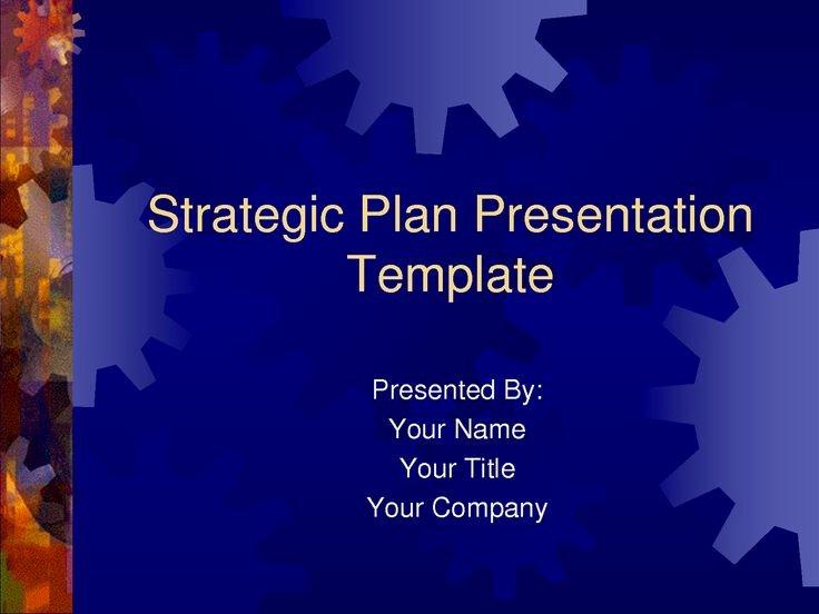 Strategic Plan Template Free Elegant Strategic Plan Powerpoint Templates Business Plan