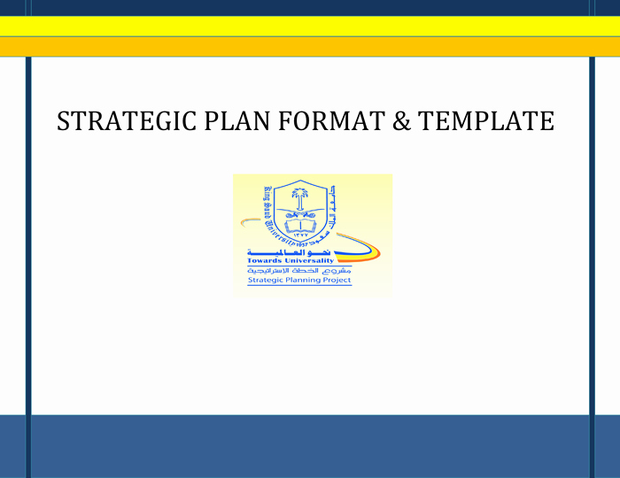 Strategic Planning Template Word Best Of Strategic Plan format and Template In Word and Pdf formats