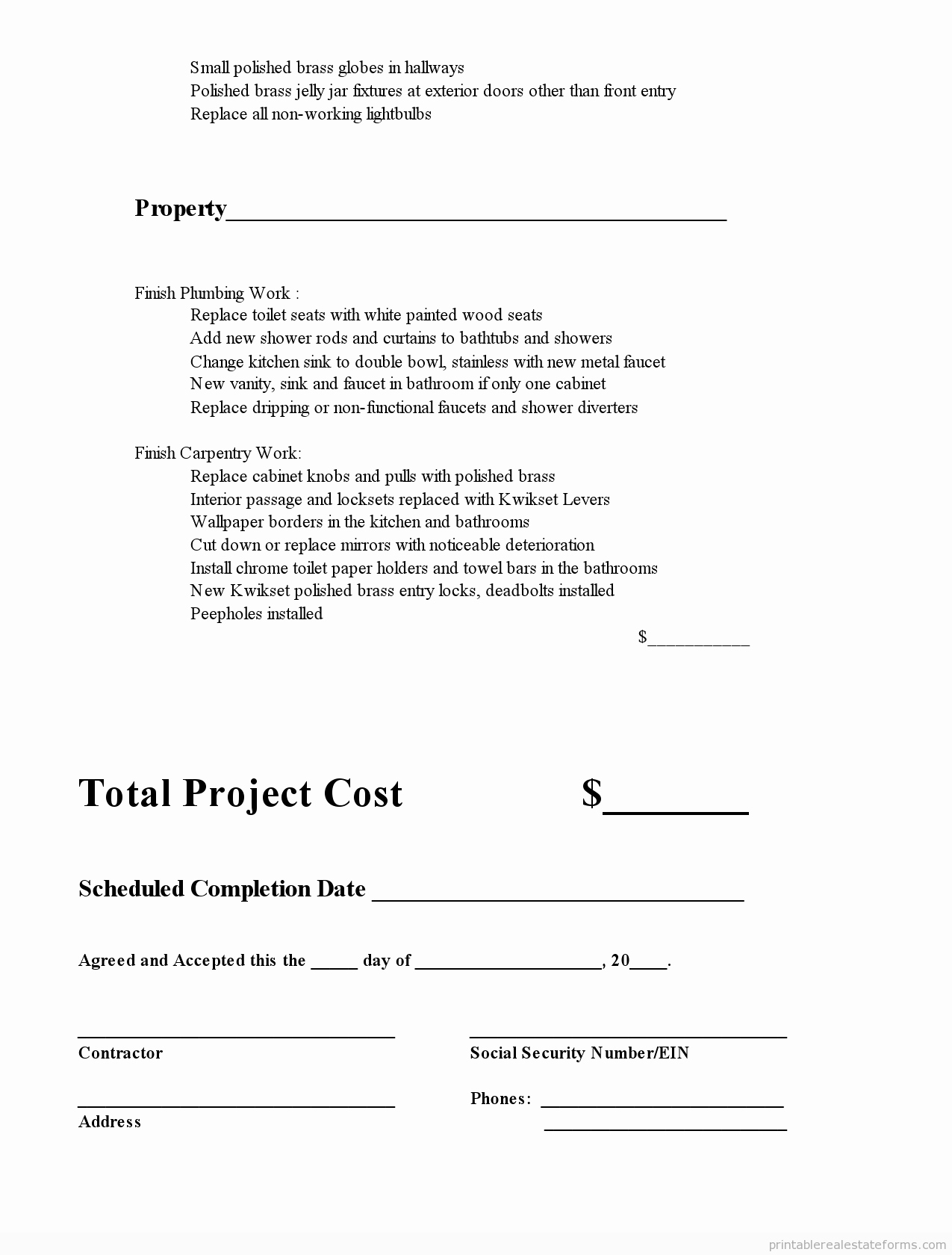 Subcontractor Contract Template Free Best Of Subcontractor Agreement0004 Printable Real Estate forms
