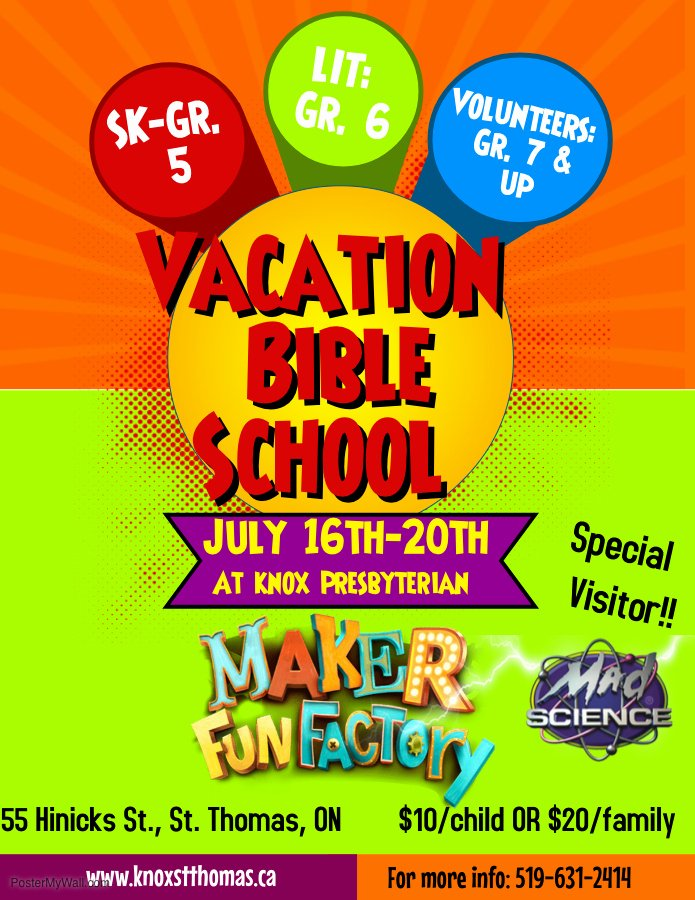 Summer Camp Flyer Template Free Awesome Vbs