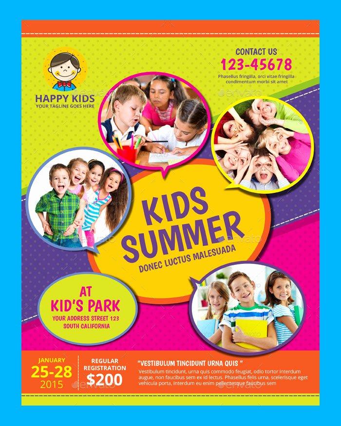 Summer Camp Flyer Template Free Best Of 30 Summer Camp Flyer Psd Templates Free & Premium Designyep