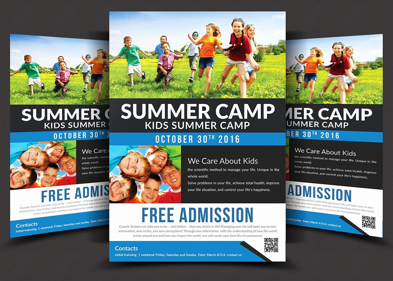Summer Camp Flyer Templates Free Awesome Kids Summer Camp Flyer Templates Flyer Templates