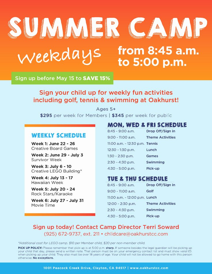 Summer Camp Flyer Templates Free Beautiful 17 Best Images About Summer Camp Marketing Ideas On