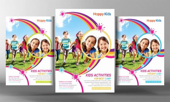 Summer Camp Flyer Templates Free Best Of Kids Summer Camp Flyer Templates by Business Tem
