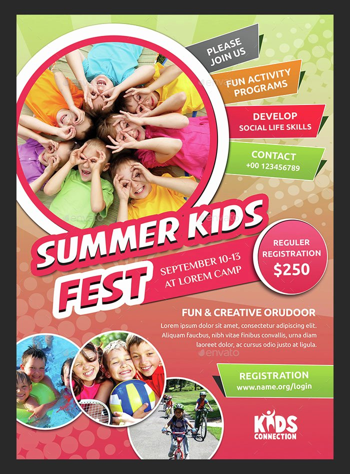 Summer Camp Flyer Templates Free Inspirational 30 Summer Camp Flyer Psd Templates Free & Premium Designyep
