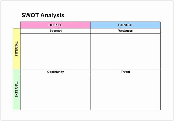 Swot Analysis Template Excel Awesome Swat Risk assessment Matrix Template to Pin On