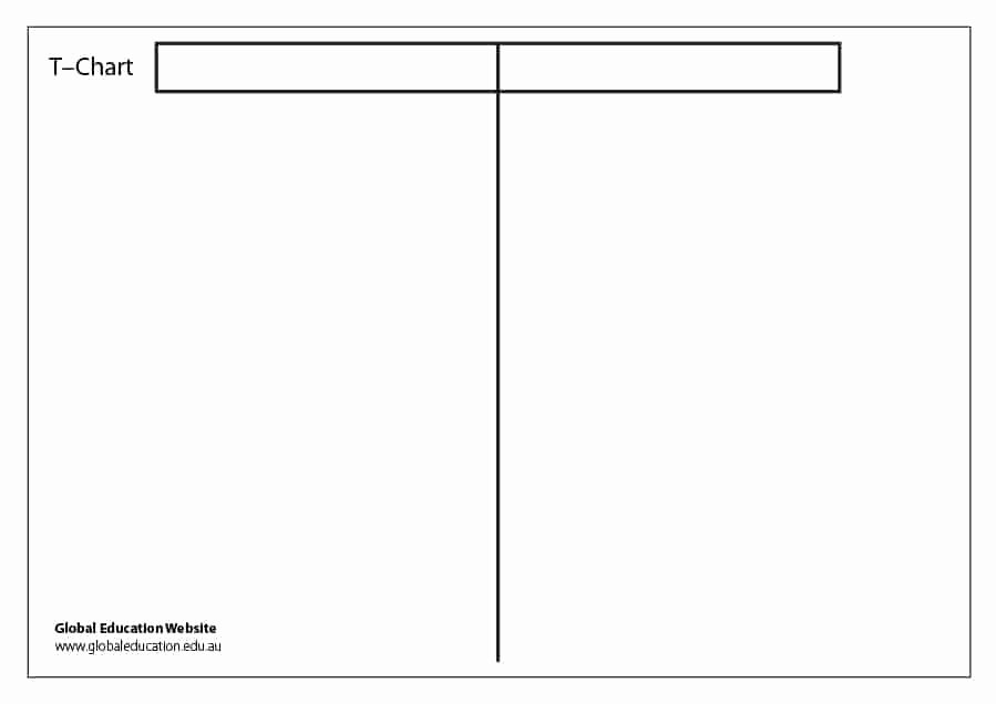 T Chart Template Pdf New 30 Printable T Chart Templates & Examples Template Archive