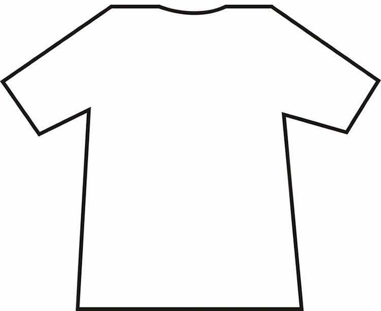 T Shirt Template Pdf Best Of Download T Shirt Template