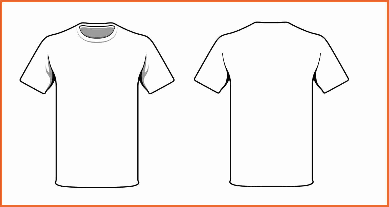 T Shirt Template Pdf Fresh T Shirt Design Template
