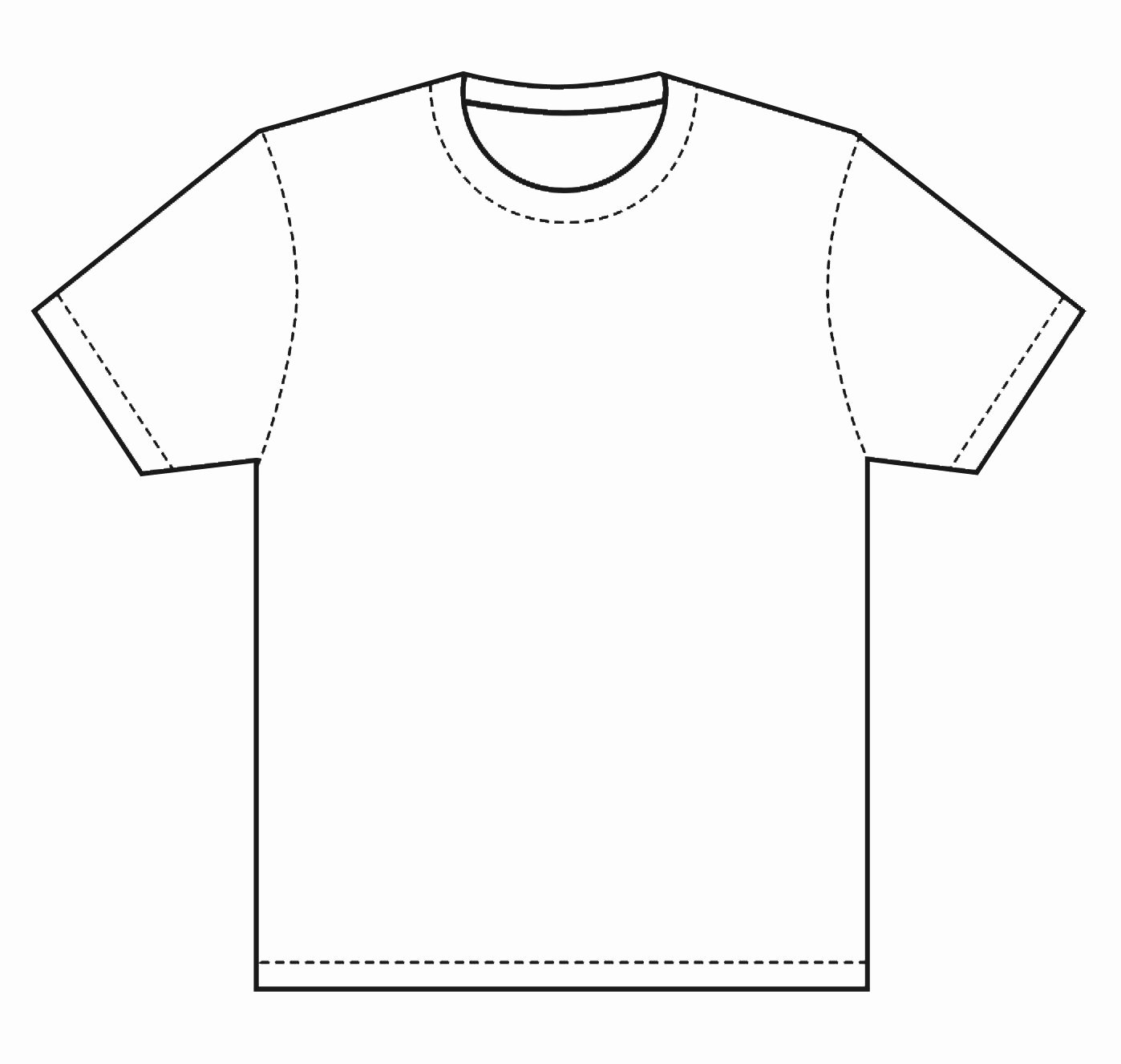 T Shirt Template Pdf Fresh T Shirt Template