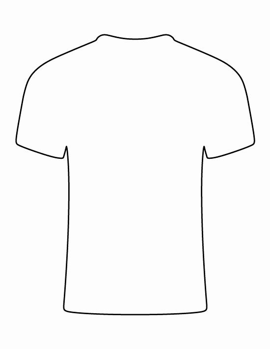 T Shirt Template Pdf Lovely Pin by Muse Printables On Printable Patterns at