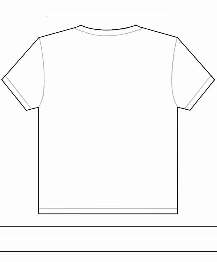 T Shirt Template Pdf Unique Tshirt Back Template Template for Penultimate